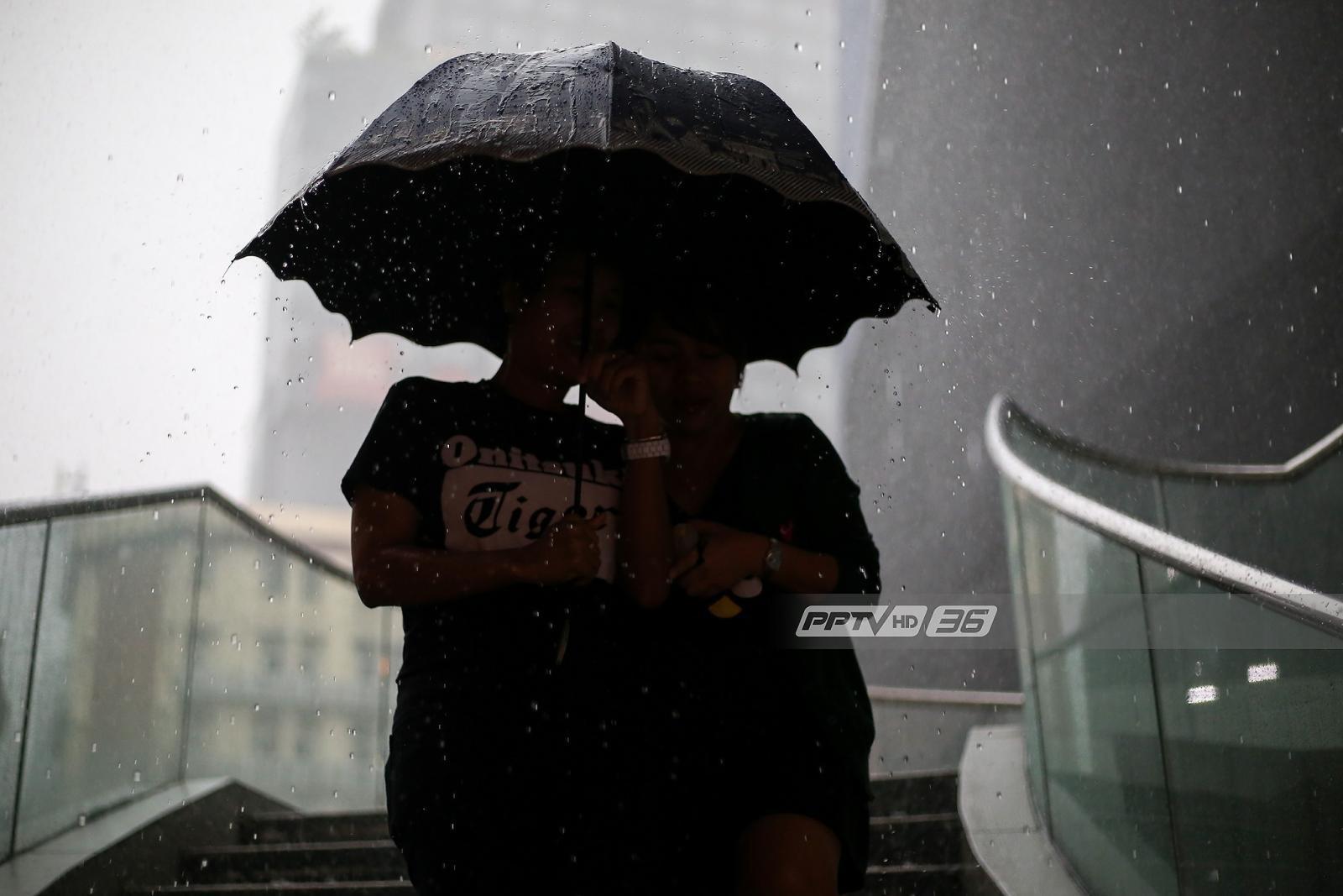 อุตุฯ เตือน 17-19 ต.ค. ภาคกลางฝนตกหนัก