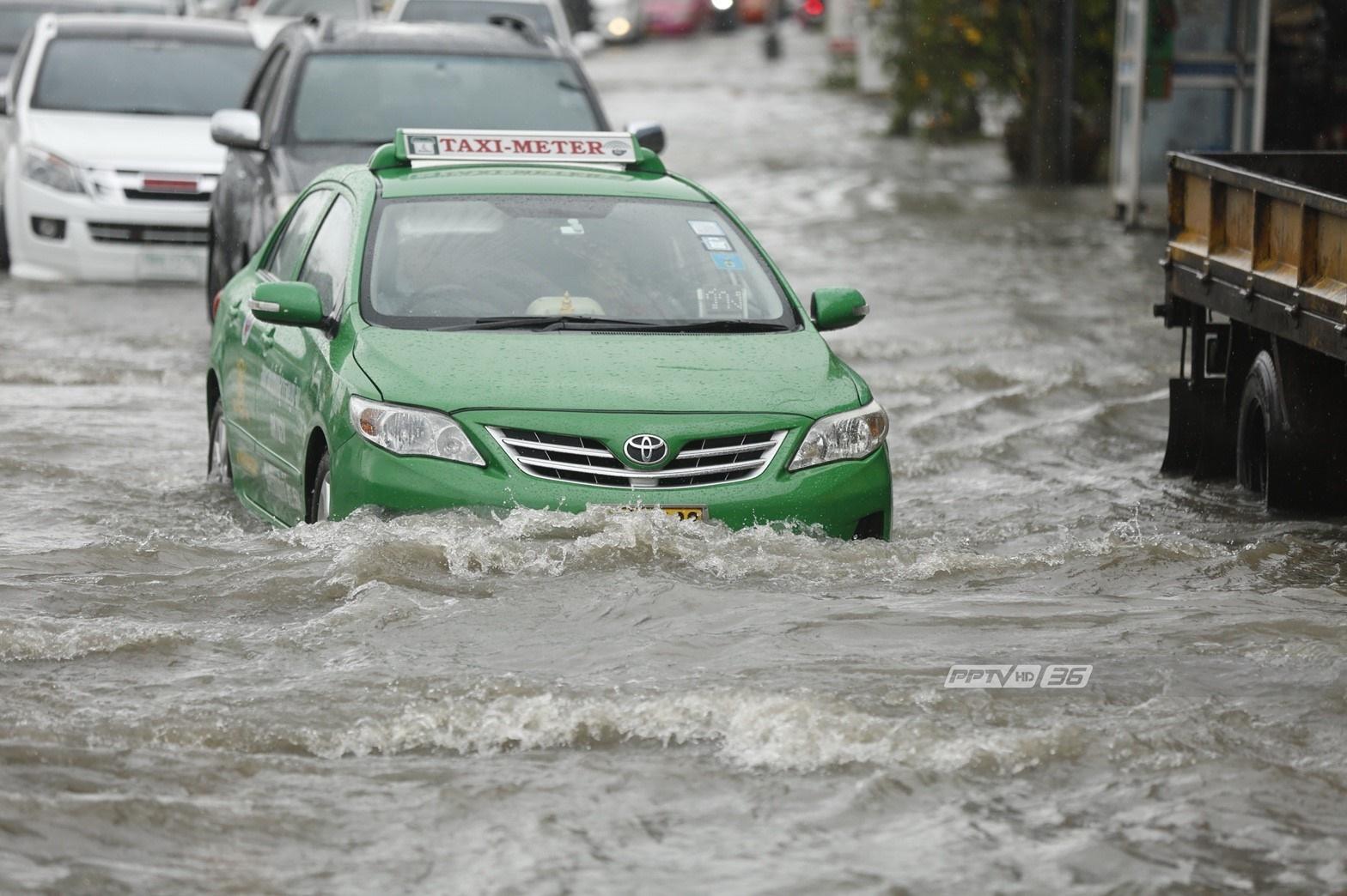5 เขตปริมาณฝนตกสูงสุด กทม. เช้าวันนี้