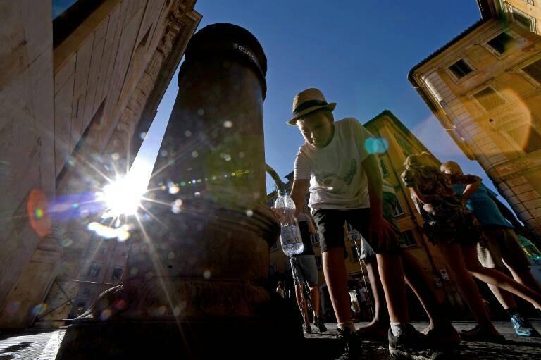 กรุงโรมเตรียมงดจ่ายน้ำให้น้ำพุสาธารณะลดปัญหาภัยแล้ง