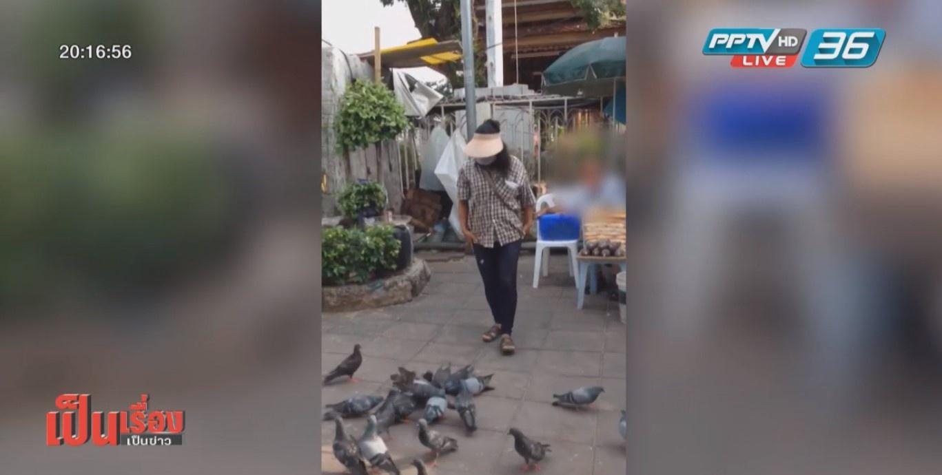 """""""ทำบุญ-ได้บาป"""" จับนกพิราบปล่อยแก้เคล็ด ค่านิยมผิดในสังคมไทย"""