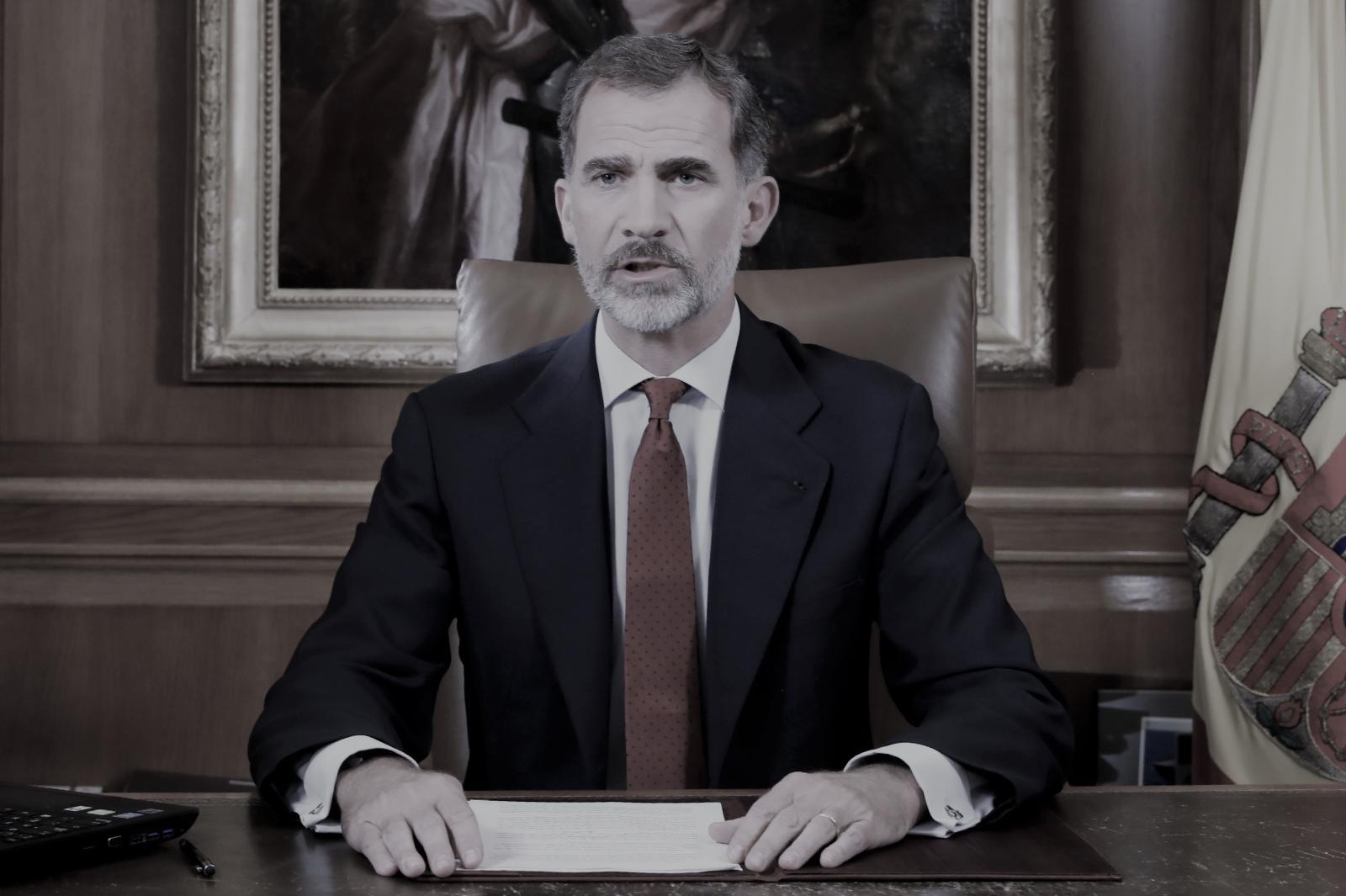 กษัตริย์สเปนประณามแคว้นกาตาลุญญาลงประชามติแยกตัว