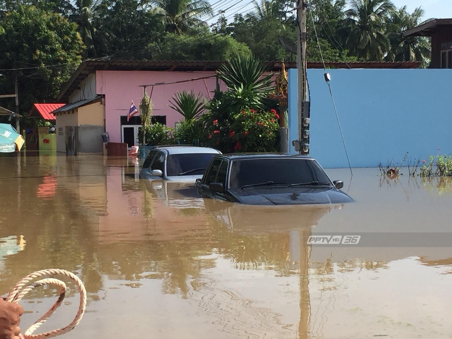 อ.เมืองเพชรบุรีเตรียมรับมวลน้ำสมทบเพิ่มอีกระลอกคืนนี้