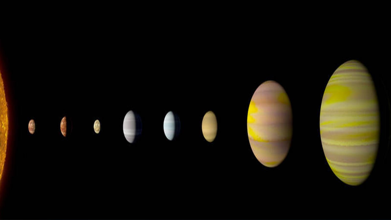 """""""นาซา"""" พบดาวฤกษ์ """"เคปเลอร์ 90"""" มีดาวเคราะห์บริวารเท่ากับระบบสุริยะจักรวาล"""