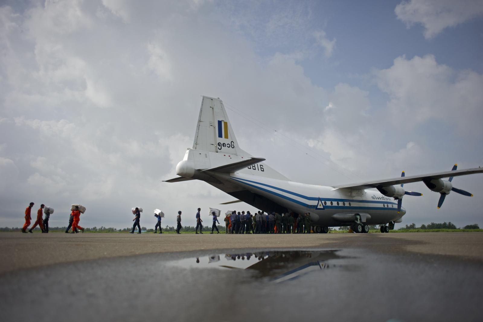 พบแล้วเครื่องบินทหารเมียนมาร์ตกในทะเลอันดามัน