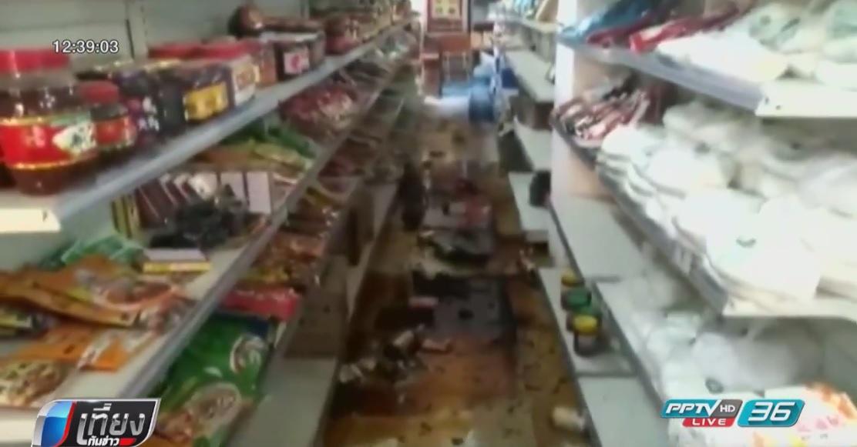 จีนแผ่นดินไหว 6.5 ตาย 13 คนอาฟเตอร์ช็อกกว่า 100 ครั้ง