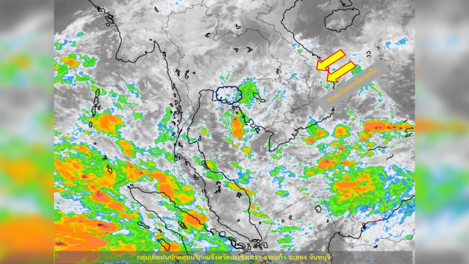 อุตุฯ เผย ไทยตอนบนมีอุณหภูมิสูงขึ้น – ภาคใต้มีฝนตกร้อยละ 60-70