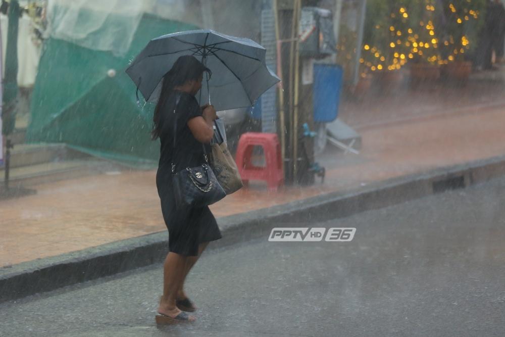 """อุตุฯ ระบุ """"ไทยยังคงมีฝนตกชุกเกือบทั่วทุกภาค"""""""