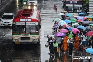 อุตุฯ ชี้วันนี้กรุงเทพฯ-ปริมณฑลฝนตกร้อยละ 40