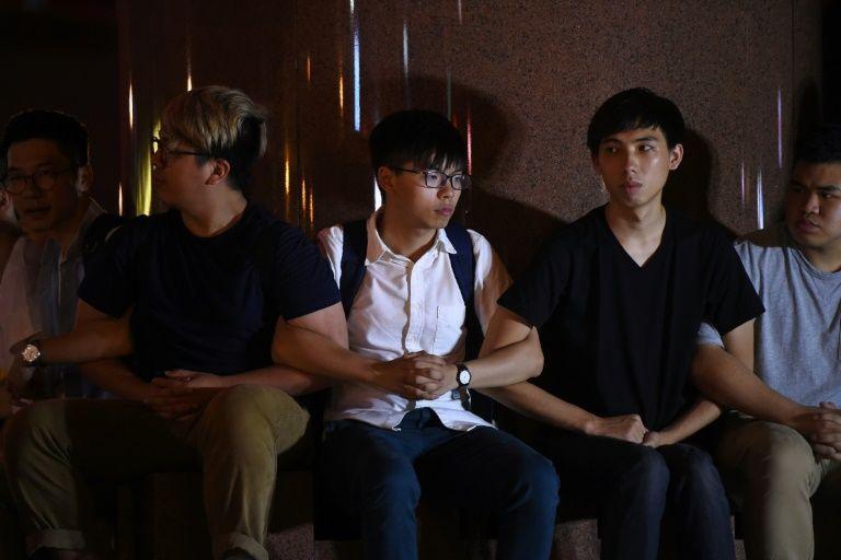 โจชัว หว่อง ถูกจับตัวที่ฮ่องกง