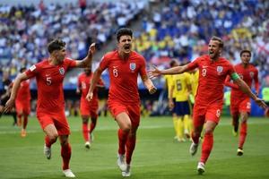 """""""อังกฤษ"""" ทุบ """"สวีเดน"""" 2-0 ทะลุรอบรองฯครั้งแรกในรอบ 28 ปี ศึกฟุตบอลโลก 2018"""