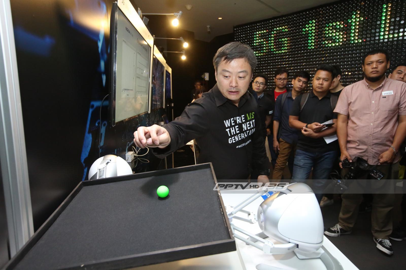 เอไอเอส พร้อม เป็นผู้นำยกระดับอุตสาหกรรมไทยสู่ 5G