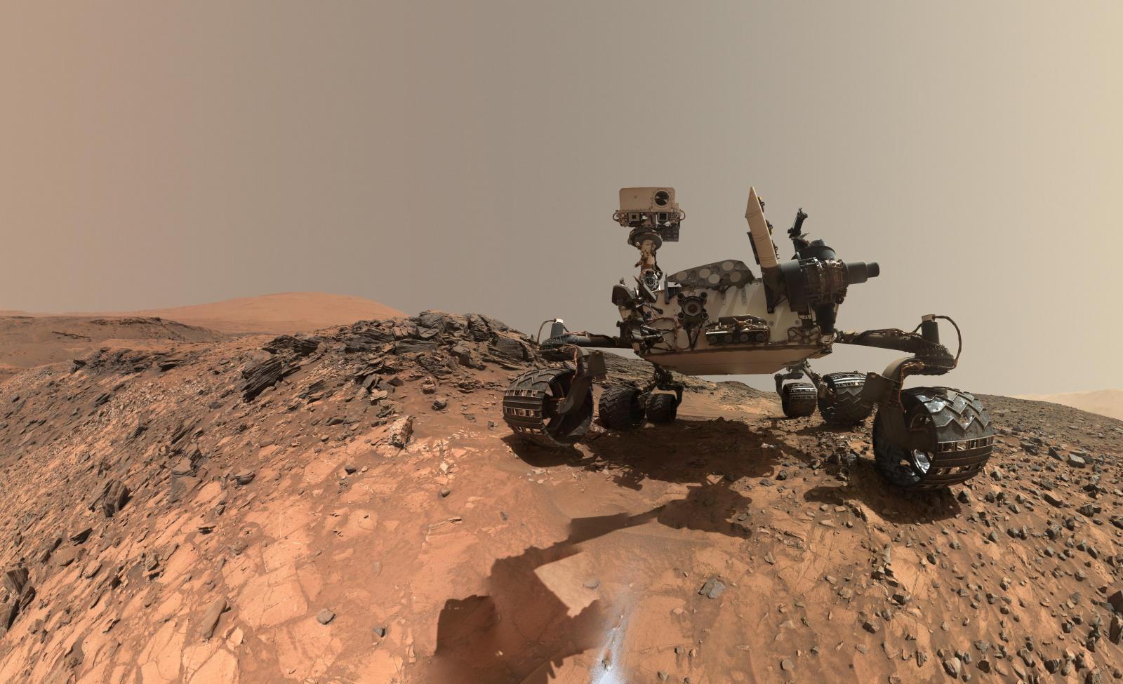 """ยานสำรวจ """"นาซ่า"""" พบโมเลกุลสารอินทรีย์บน """"ดาวอังคาร"""" คาดอาจเคยมีสิ่งมีชีวิต"""