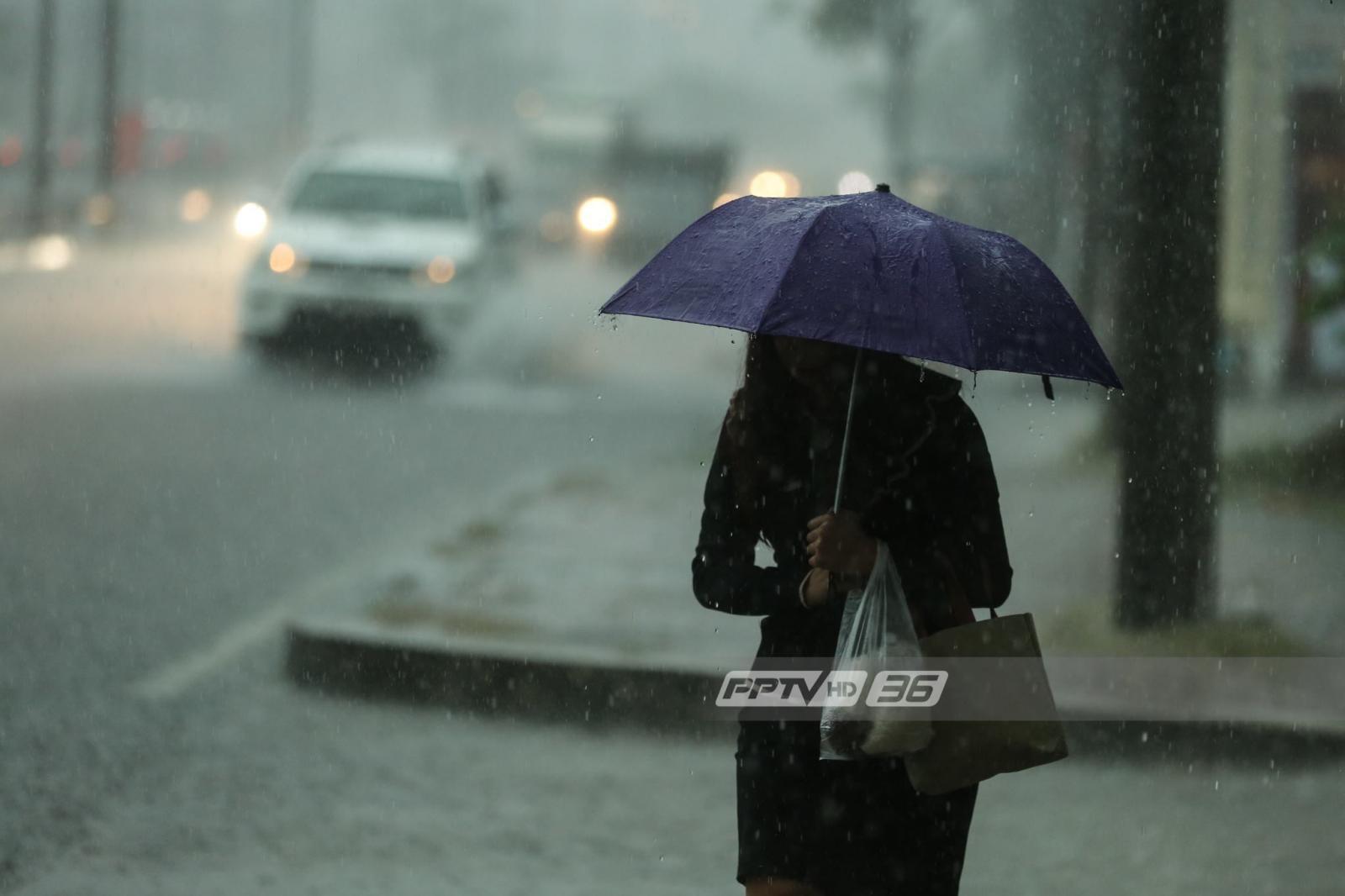 อุตุฯ เตือนปชช.รับมือฝนตกหนักเกือบทั่วประเทศ