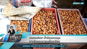 เกษตรพังงา ย้ำต้องควบคุมการลักลอบขายเมล็ดทุเรียน
