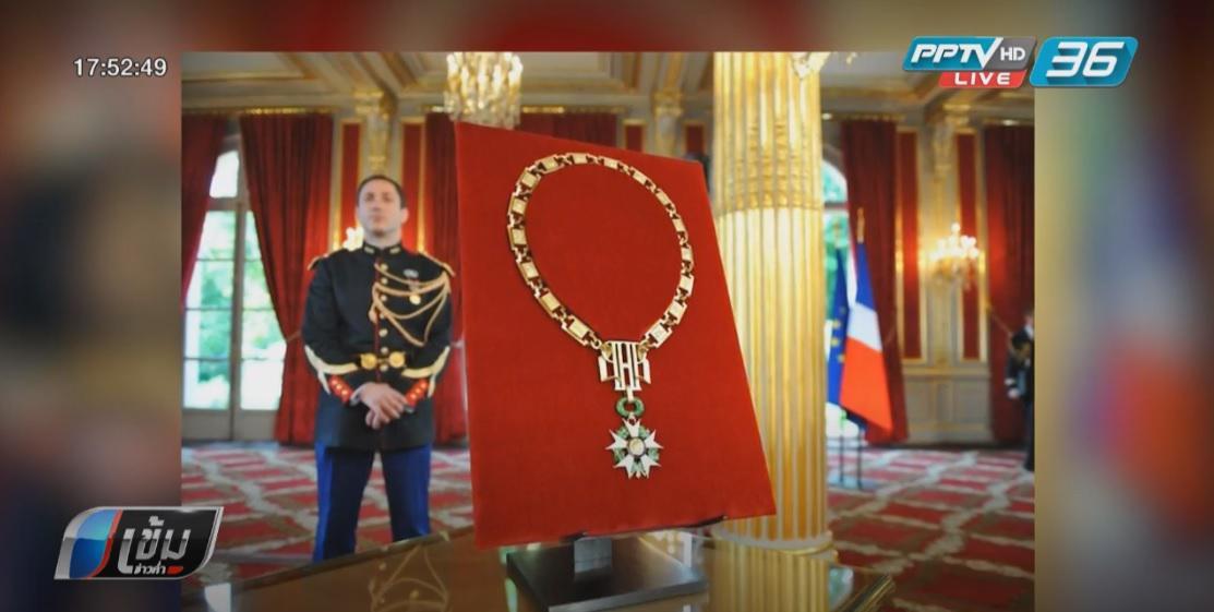 ผู้นำซีเรียส่งคืนเครื่องอิสริยาภรณ์ให้ฝรั่งเศส