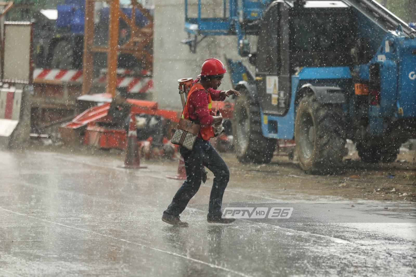 """อุตุฯ เตือนอากาศแปรปรวน ฉ.20 """"ฝนตก-ลมแรง"""""""