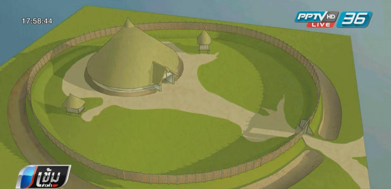 """อากาศแห้งแล้ง ช่วย """"นักโบราณคดีอังกฤษ"""" พบโบราณสถานนับร้อยแห่ง"""
