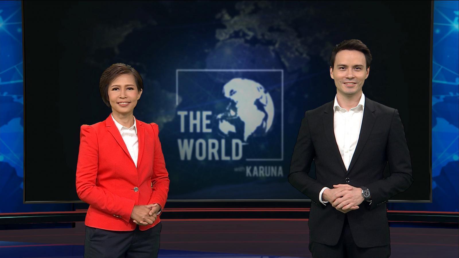 """""""กรุณา บัวคำศรี"""" จับคู่ """"แดนนี่"""" พลิกโฉมรายการข่าวรูปแบบใหม่ """"The World with KARUNA"""" เสริฟ์ข่าวต่างประเทศ เทียบชั้นอินเตอร์"""