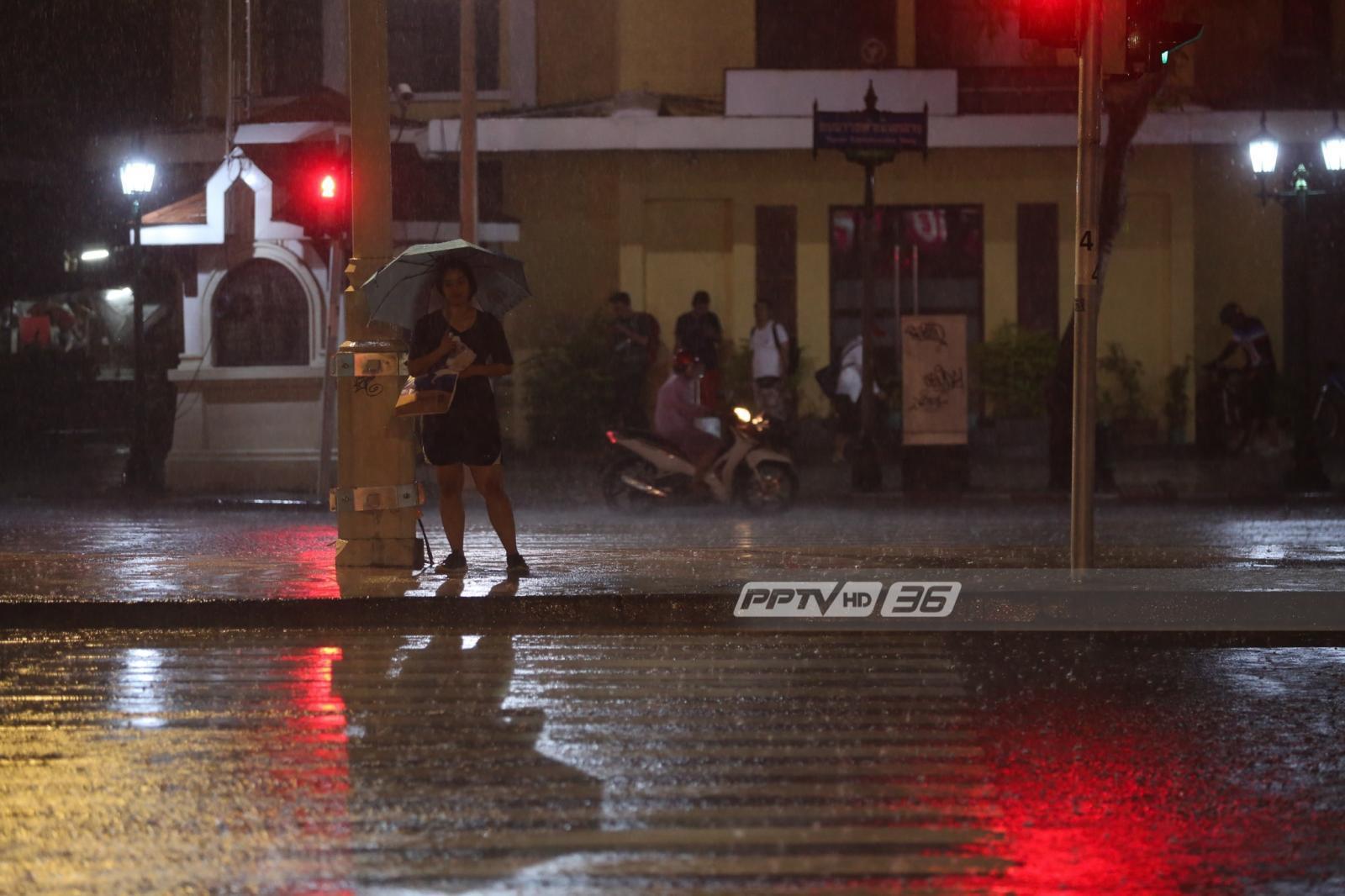 อุตุฯเผย กทม.มีฝนตกร้อยละ 60 ของพื้นที่