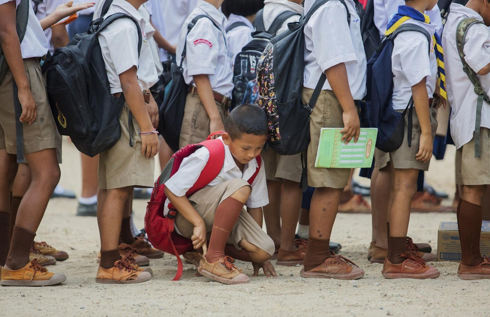 """เริ่มแล้ววันนี้ """"ผ้าป่าร้อยพลังการศึกษา""""ตั้งเป้าระดมทุน 100 ลบ.ช่วยเด็กไทย"""