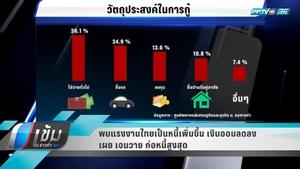 """พบแรงงานไทยเป็นหนี้เพิ่ม """"กลุ่ม Gen-Y"""" ก่อหนี้สูงสุด"""