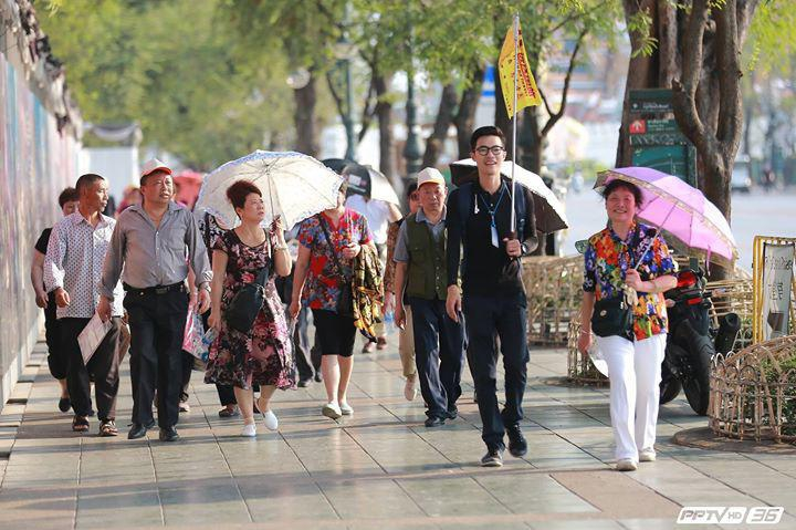 """รัฐบาลพิจารณา """"ยกเว้นค่าธรรมเนียมวีซ่าจีน"""" หลังนักท่องเที่ยวจีนวูบ"""