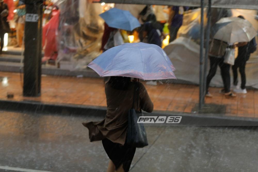 อุตุฯเผย กทม.มีฝนฟ้าคะนอง ร้อยละ 60 ของพื้นที่