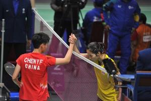 แบดมินตันทีมหญิงไทยพ่ายทีมจีน คว้าทองแดง เอเชียนเกมส์ 2018