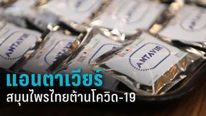 """""""แอนตาเวียร์"""" อาหารเสริมจากสมุนไพรไทยต้านโควิด-19"""