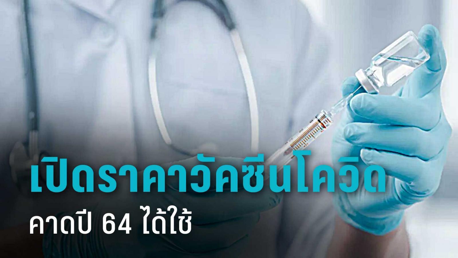 ผลทดลองวัคซีนโควิดทั่วโลก มีข่าวดี คาดต้นปี 64 ได้ใช้ ราคาหลักร้อย