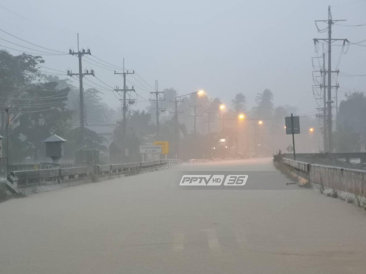 """""""เพชรบุรี -ประจวบฯ - ชุมพร – ระนอง"""" ยังมีฝนตกหนักบางพื้นที่"""