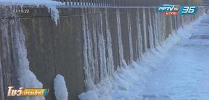 ลมหนาวมรณะทำสหรัฐฯอุณหภูมิติดลบทุบสถิติ เสียชีวิตแล้ว 12 คน