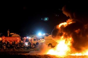 ท่อส่งน้ำมันเม็กซิโก ระเบิด ตาย 21 เจ็บกว่า 70