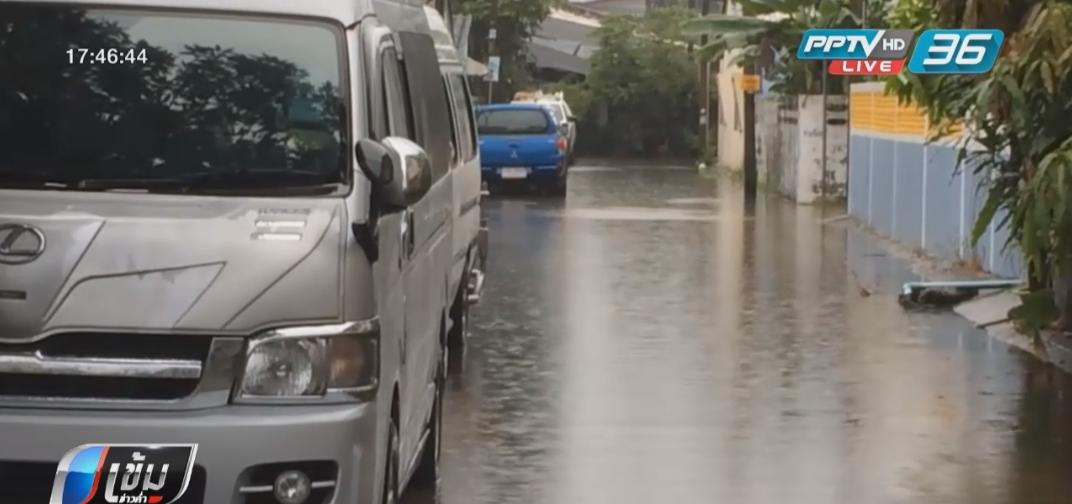 น้ำท่วมสุราษฎร์ธานีคลี่คลาย หลังฝนตกลดลง