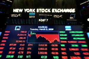 ดาวโจนส์ ปิดร่วงกว่า 200 จุด นักลงทุนผิดหวังผลประกอบการบริษัทไตรมาส 2