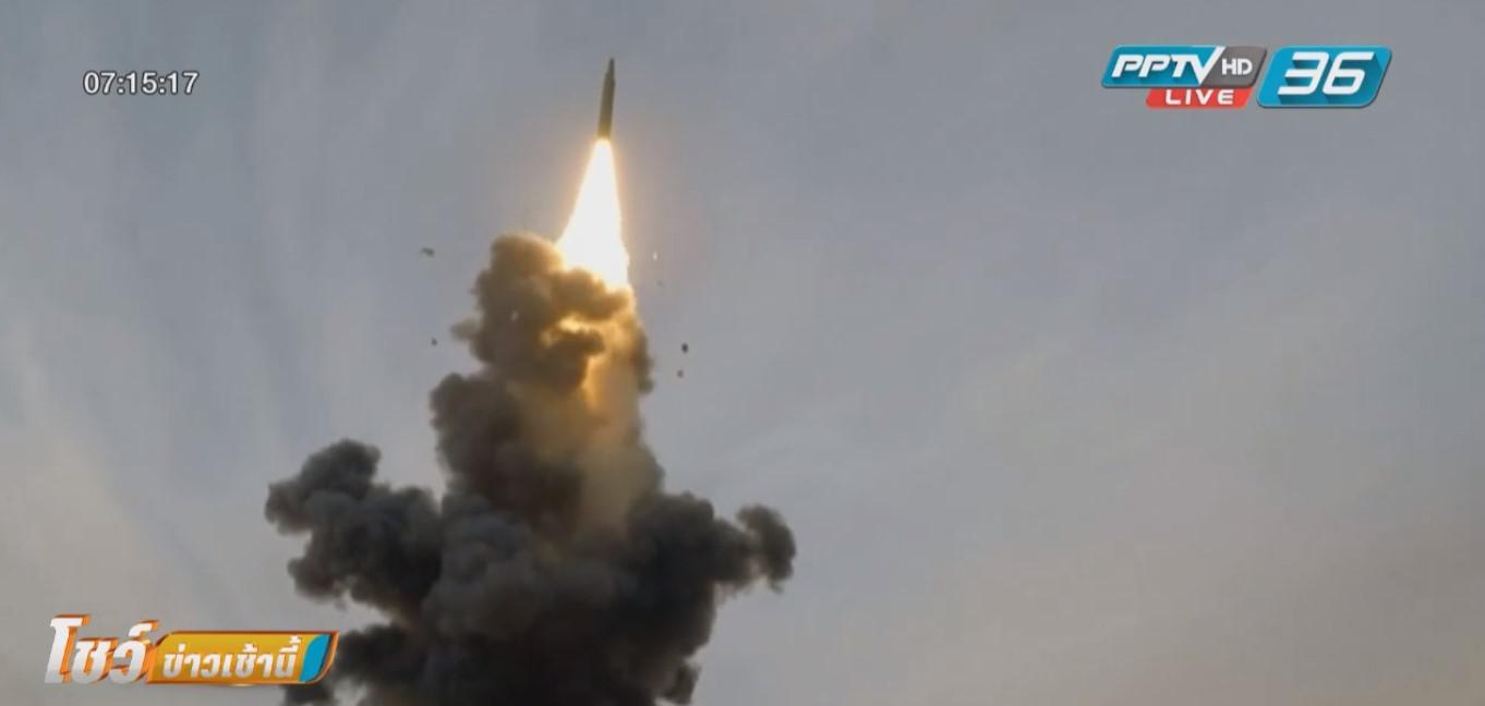 """จีนทดสอบจรวด """"ตงเฟิง26"""" ยิงไกลถึงเกาะกวมของสหรัฐฯ"""