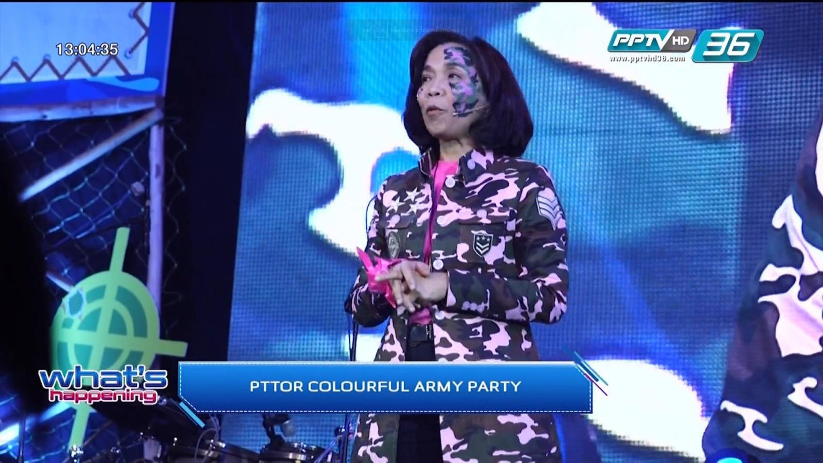 PTTOR COLOURFUL ARMY PARTY