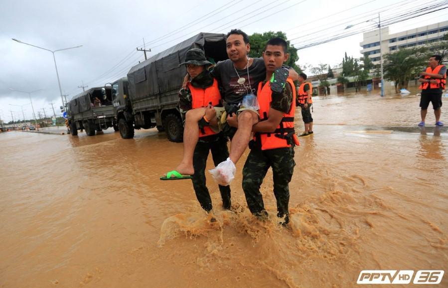 """""""ประวิตร"""" สั่งทุกเหล่าทัพรับมือ """"พายุปาบึก""""เตรียมช่วยเหลือประชาชน เร่งด่วน!"""