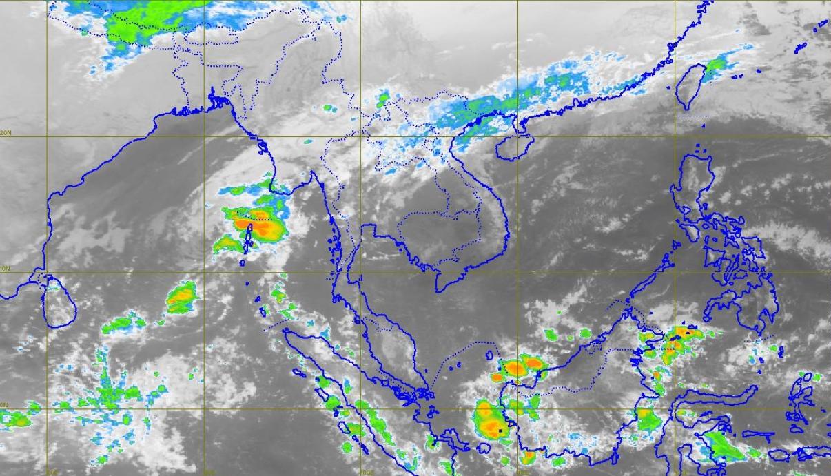 อุตุฯ เตือน ฝนตก กาญจนบุรี-เพชรบุรี-ประจวบฯ-ระนอง ระวังน้ำท่วม