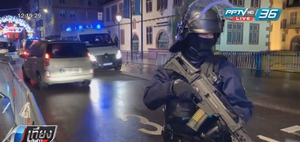 """""""ฝรั่งเศส"""" ส่งเจ้าหน้าที่กว่า 300 นาย ปูพรมล่า """"มือปืน"""" กราดยิงสตราส์บูร์ก"""