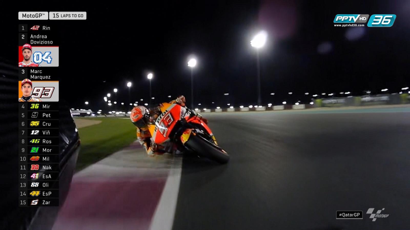 ความเร็วของ Andrea Dovizioso และ Marc Marquez
