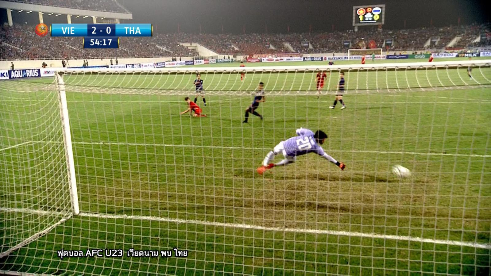 ทีมชาติเวียดนาม เอาชนะ ทีมชาติไทย 4 - 0