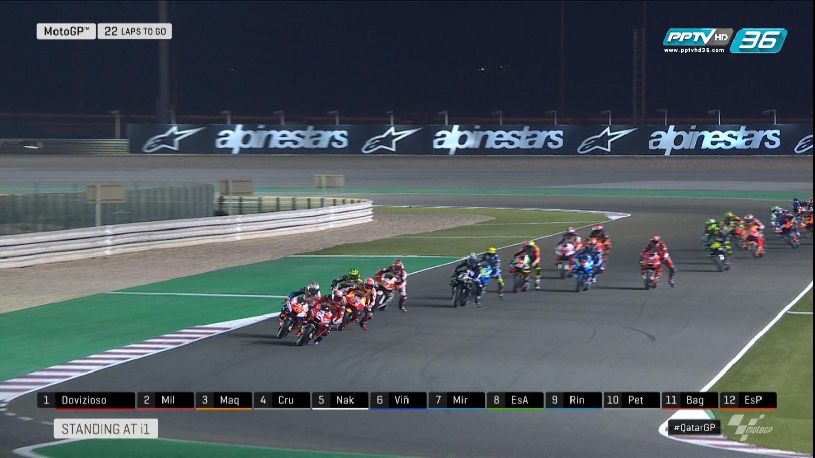 "Andrea Dovizioso ออกสตาร์ทได้ดี ศึก ""MotoGP 2019"" สนามแรก"