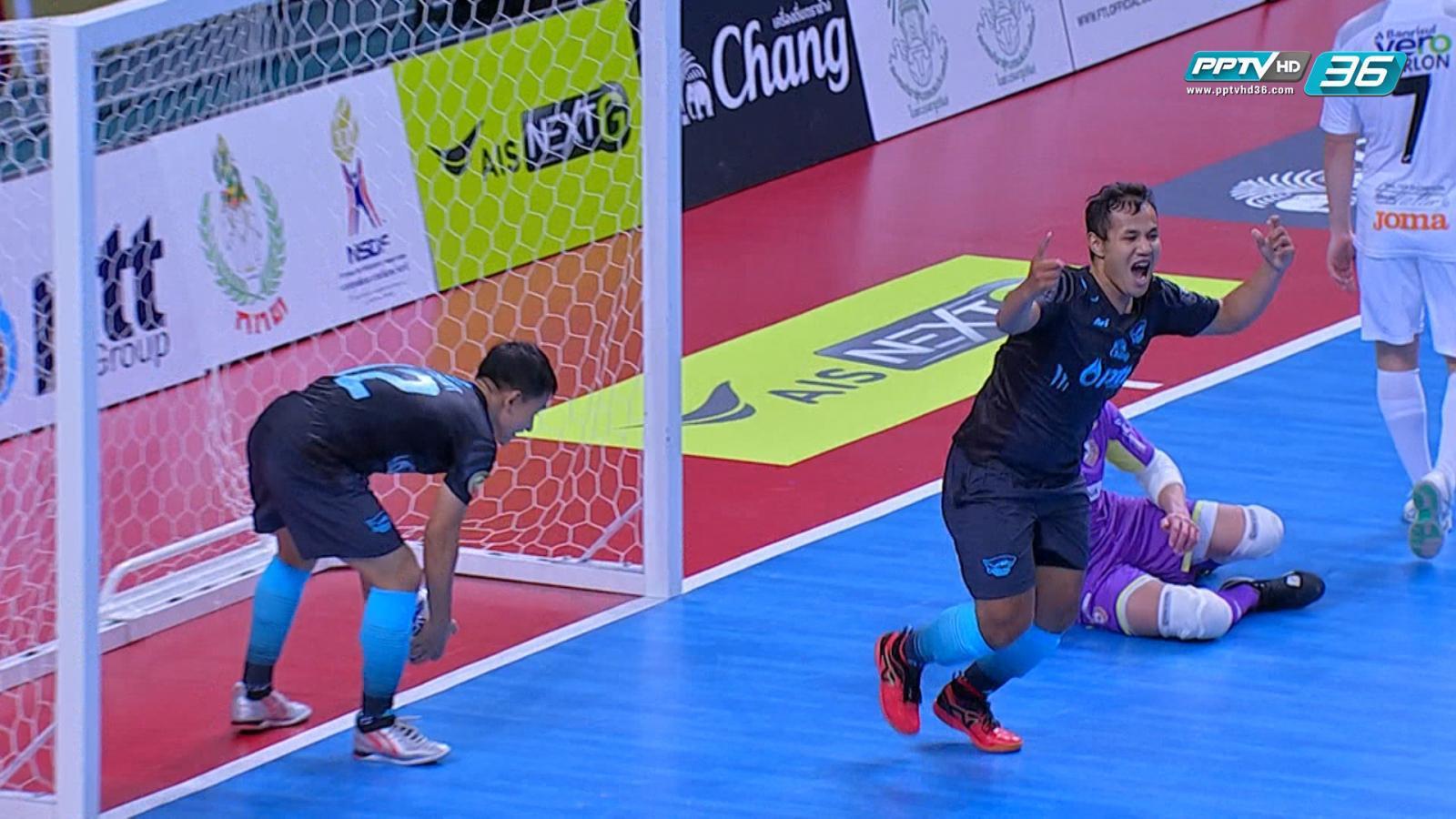 พีทีที บลูเวฟ ชลบุรี สู้สุดใจแม้แพ้ คาร์ลอส บาร์โบซ่า 2-3