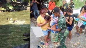 ทหาร กระโดดช่วยเด็กจมน้ำ รอด 2 เสียชีวิต 1