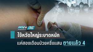 """สถานการณ์""""ไข้หวัดใหญ่"""" ระบาดหนัก สองเดือน ตาย 4 ป่วยเกือบ 50,000 คน"""