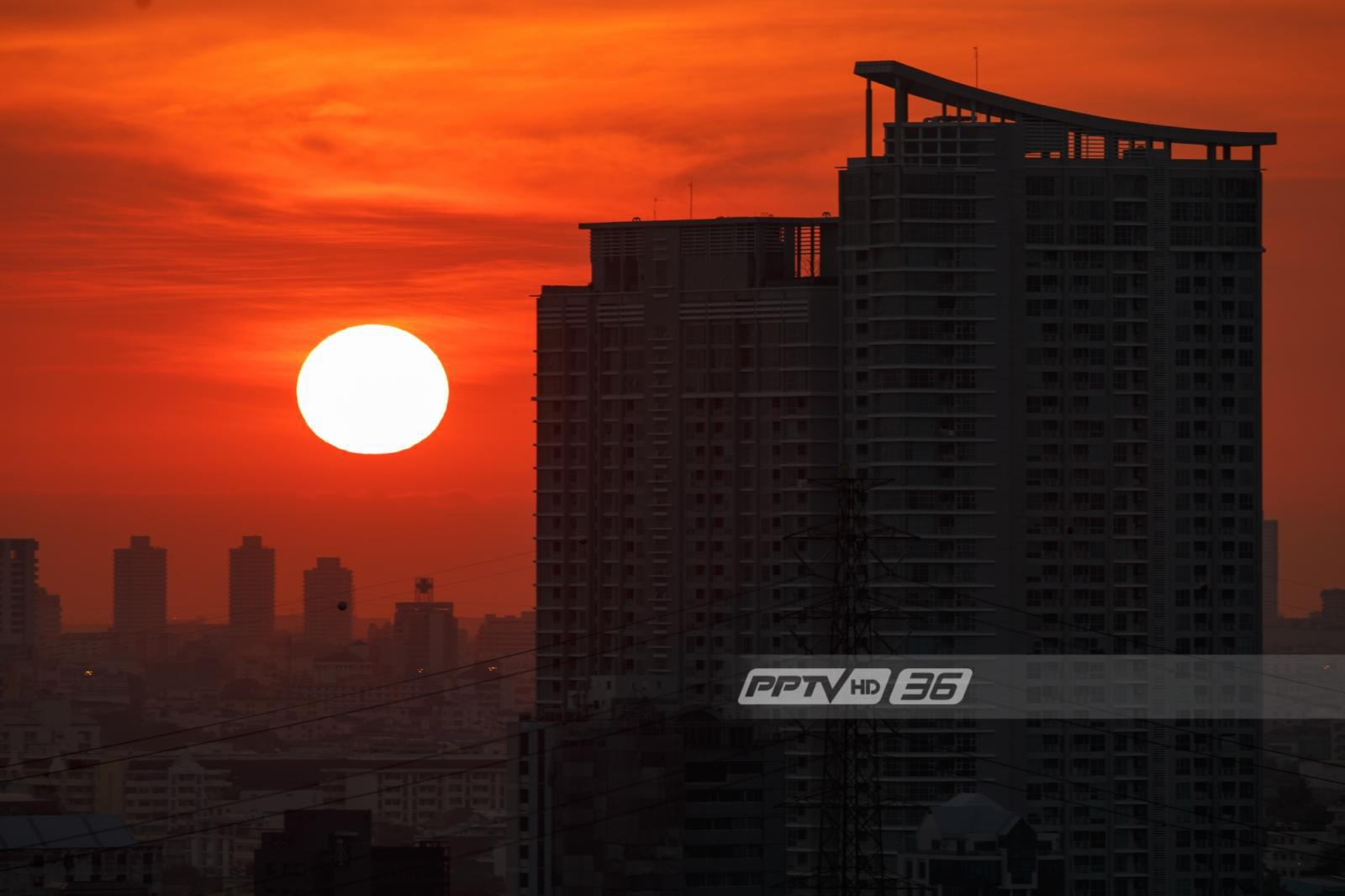 กรมอุตุเผยฯ ประทศไทยตอนบนมีอากาศร้อนจัด