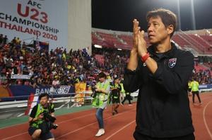 """บัตรเกม ยู-23 """"ทีมชาติไทย"""" รอบ 8 ทีม ชิงแชมป์เอเชีย ขายหมดเกลี้ยง 2 หมื่นที่นั่ง"""