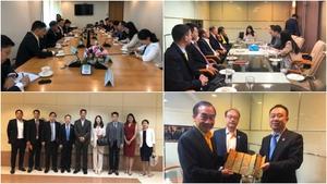 สมาคมวัฒนธรรมไทย – จีน เดินสายพบพรรคการเมือง