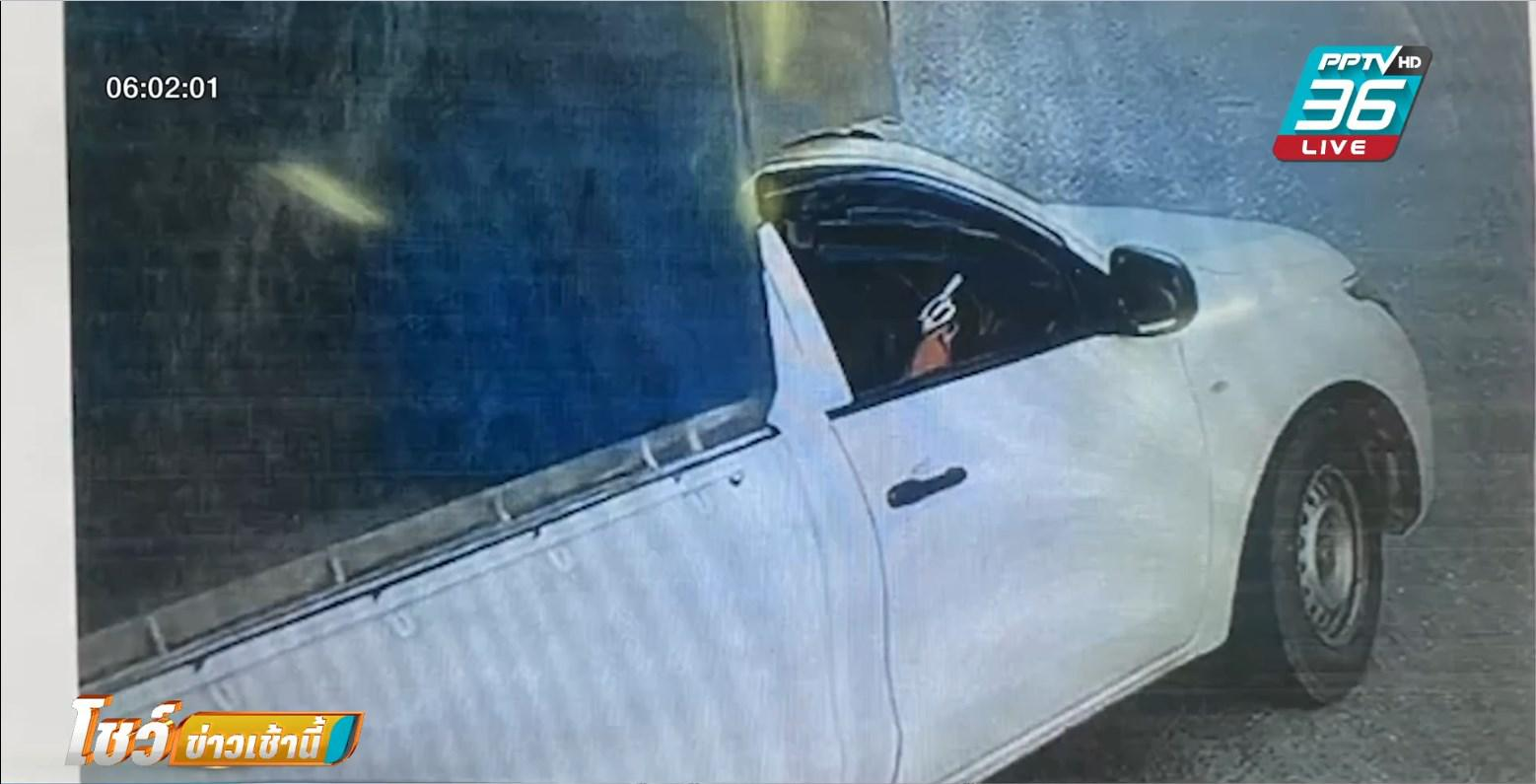กระบะปืนดุ อ้าง ถูกปาดหน้า ชักปืนยิงขู่กลางถนน